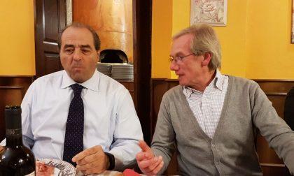 A cena con Antonio Di Pietro