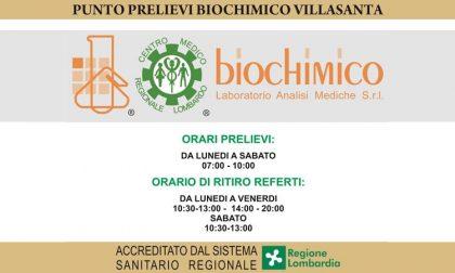Il Punto Prelievi Biochimico arriva anche a Villasanta