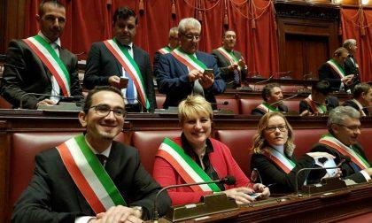 Il sindaco di Caponago Buzzini in Parlamento a Roma