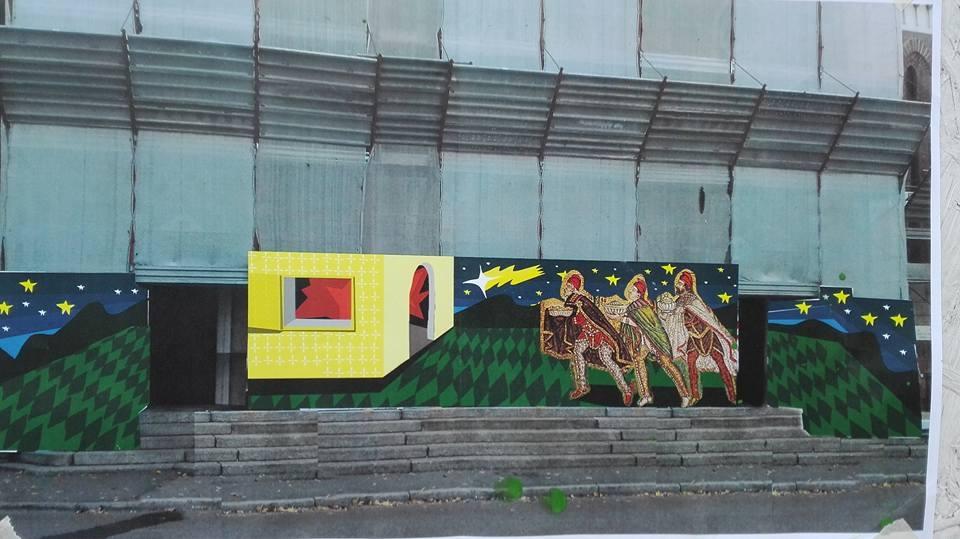 Street art in via Zucchi ECCO LA NUOVA OPERA - Prima Monza