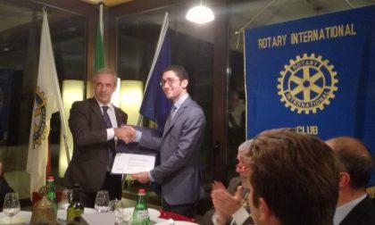 Rotaract Brianza Nord premiato per impegno e iniziative sul territorio