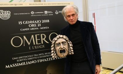 """Lo sport incontra il teatro: """"Omero e l'Iliade"""" alla Candy Arena"""