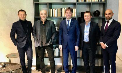Vicepresidente Sala a Giussano: tour in azienda