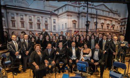 Concerto banda applausi a Paina