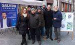 La Lega Nord in piazza contro lo Ius Soli