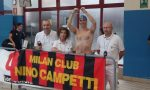 Nuota ammanettato, record per Paolo Cerizzi