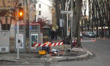 Sicurezza stradale Interventi in via Buonarroti e della Robbia