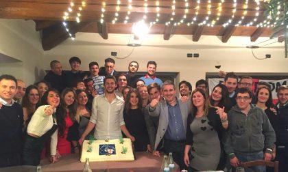 Giovani padani a cena a Capriano