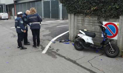 Incidente in scooter ferita una ragazzina di 15 anni VIDEO