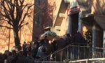 Funerali Andrea La Rosa è arrivata la salma FOTO
