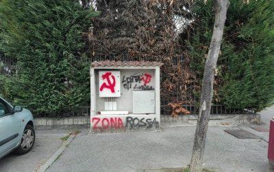 Monza colorata di rosso, la protesta verde