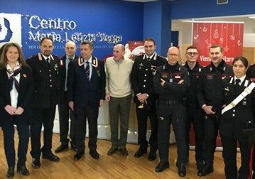 Regali dai carabinieri ai bambini del Maria Letizia Verga