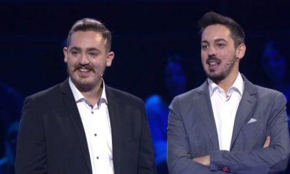 """Due fratelli di Biassono sbancano il quiz di Gerry Scotti """"The Wall"""""""