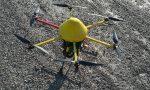 Drone in volo sopra il Ctl3 per prevenire gli allagamenti
