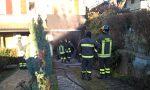Auto a fuoco nel garage, tragedia sfiorata FOTO e VIDEO