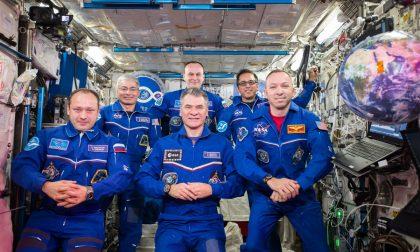 Grande festa di benvenuto per l'astronauta Paolo Nespoli