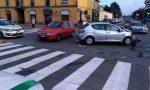 Incidente in via Borgazzi a Monza, ferito un automobilista FOTO