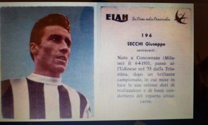 Addio all'ex calciatore Peppino Secchi