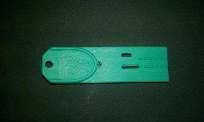 Doccia a pagamento con chiavetta magnetica