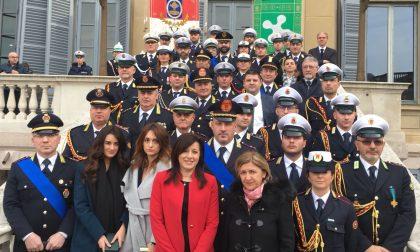 In Villa Reale premiati 40 agenti della Polizia Locale lombarda