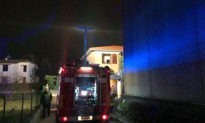 Pompieri a Capodanno va a fuoco un televisore