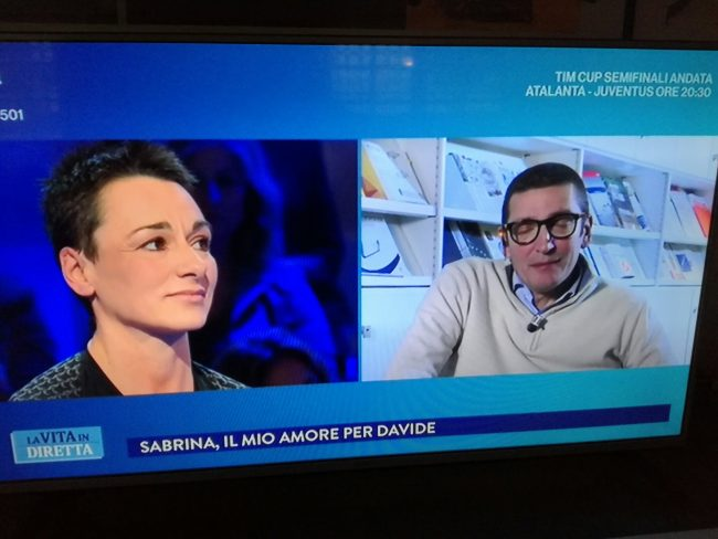 La storia di Sabrina e Davide in onda su Rai 1