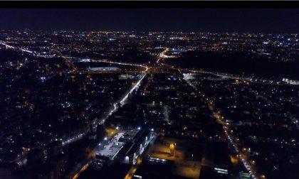 Traffico Valassina: il drone e la foto scattata ieri sera
