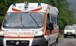Grave incidente tra auto e moto a Lazzate