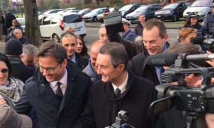 Elezioni Lombardia 2018 a Cologno la prima uscita di Fontana