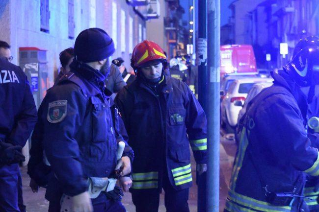 Esplosione in palazzina a Sesto San Giovanni
