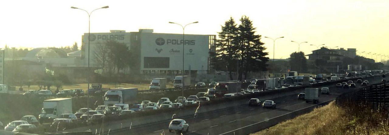Incubo in Valassina: 4 incidenti paralizzano il traffico SS36 ANCORA CHIUSA