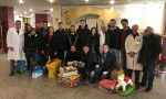 Giovani Padani della Martesana in visita alla Pediatria del Bassini
