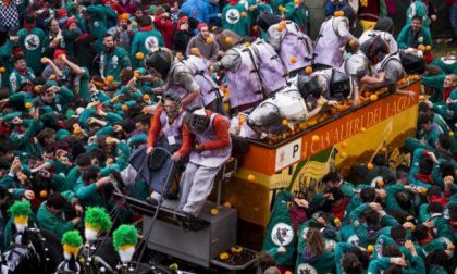 Tempo di Carnevale 2018 in Piemonte la battaglia delle arance