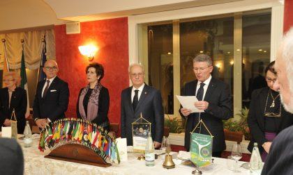 Lions club Brianza Host, visita del governatore Franco Guidetti