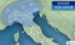 Neve giovedì in Brianza PREVISIONI METEO