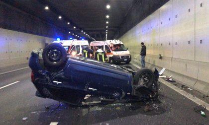 Incidente tunnel Monza Statale 36 chiusa per Milano
