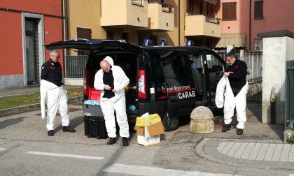 Duplice omicidio Ornago. I Ris nell'appartamento dell'orrore FOTO