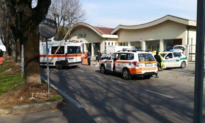 Vimercate: investito mentre attraversa la strada, ferito un 43enne