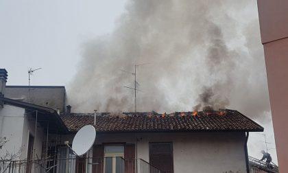 Incendio a Verano: casa inagibile e tre famiglie sfollate