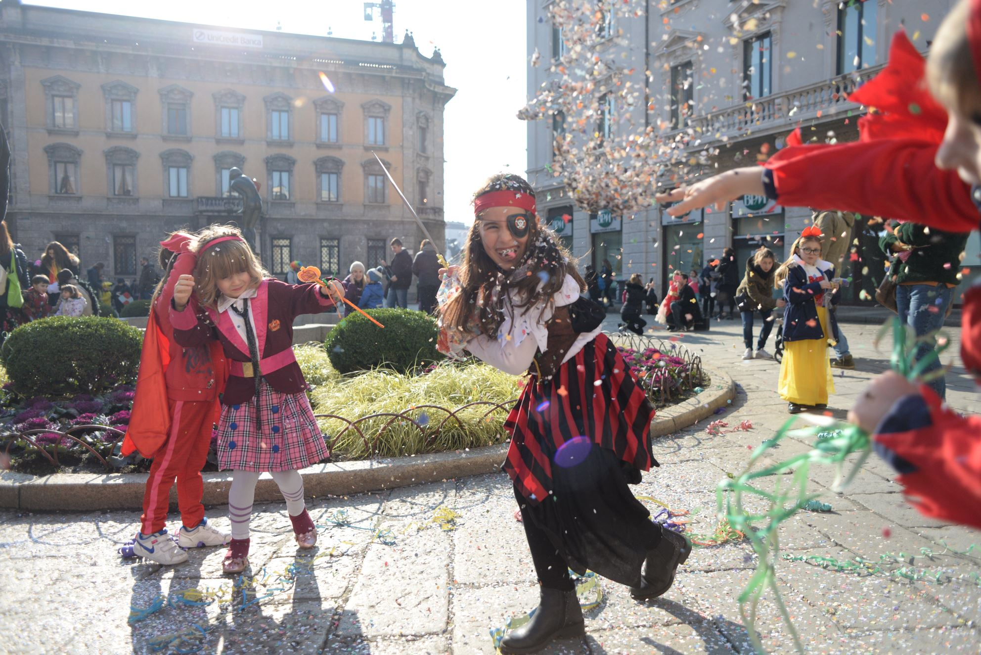 Carnevale a Monza il fine settimana più divertente dell'anno