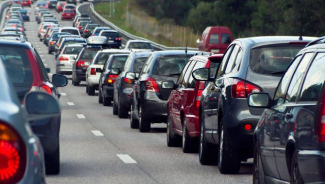 Traffico intenso e strada provinciale 36 chiusa per incidente