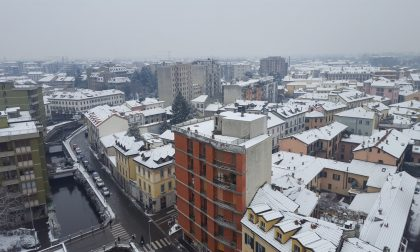 Ancora neve in Brianza ma non attacca   Allerta ghiaccio