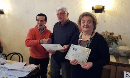 La Raselp Peregallo premia i volontari benemeriti FOTO