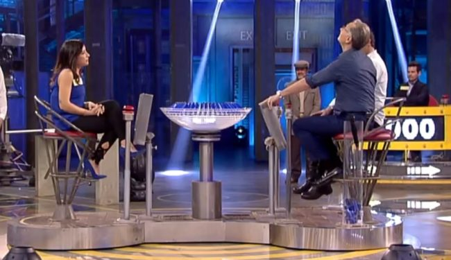 Caratese in tv con bonolis