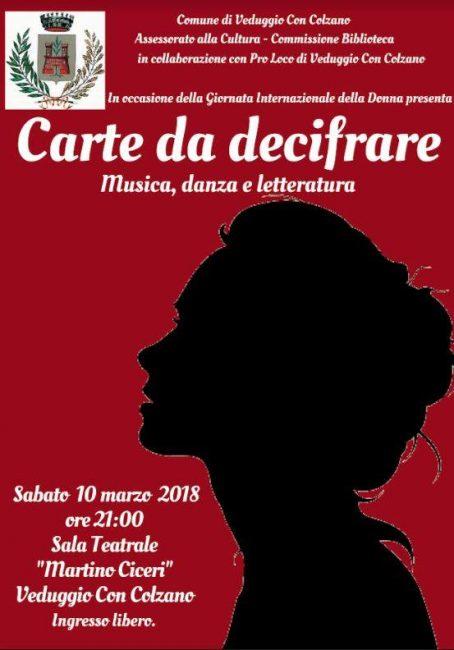 Veduggio rende omaggio alle donne con musica, danza e parole