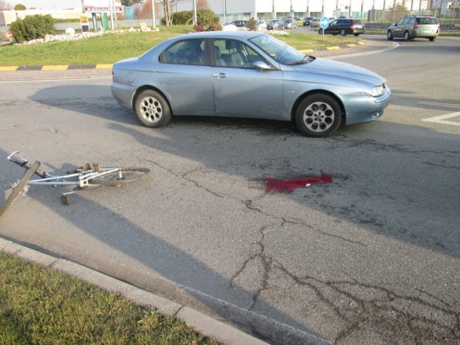incidente ciclista giussano