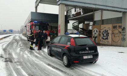 Area dismessa di via Oslo a Seregno: arrivano Carabinieri e ambulanza