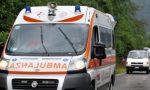 Lesmo: schianto in via Ratti, donna soccorsa in gravi condizioni