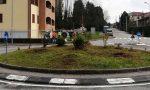 La rotonda di Bernareggio diventa simbolo di pace e accoglienza