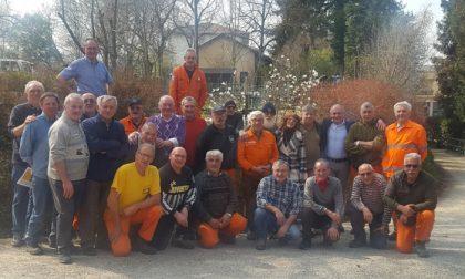 Parco Dho riqualificato grazie ad Alpini e Protezione Civile